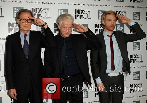 Bill Nighy, Richard Curtis and Domhnall Gleeson 1