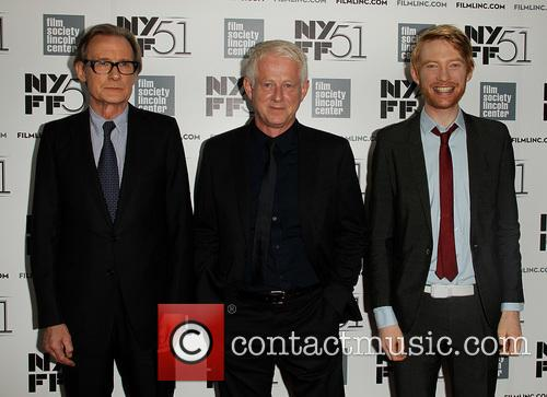 Bill Nighy, Richard Curtis and Domhnall Gleeson 6