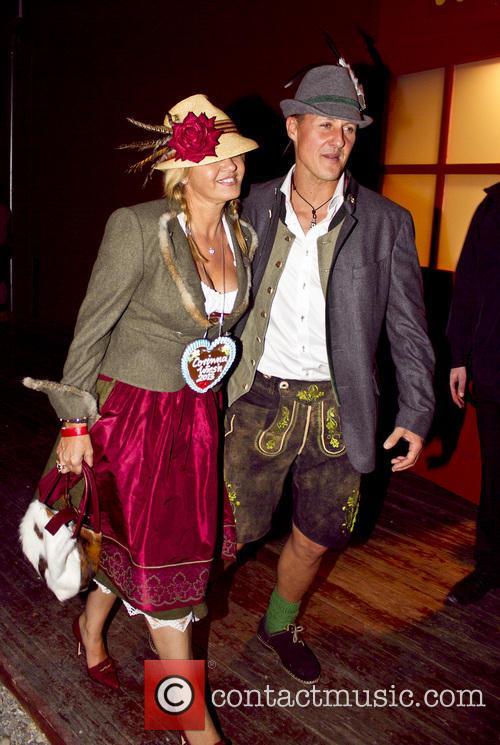 Michael Schumacher and Corinna Schumacher 3