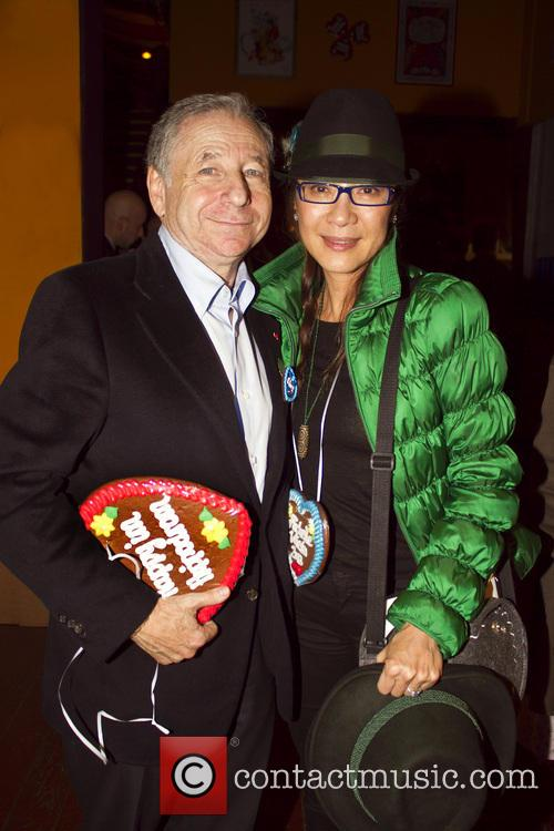 Michelle Yeoh and Jean Todt 2