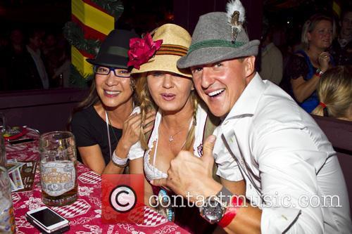 Michellle Yeoh, Michael Schumacher and Corinna Schumacher 3