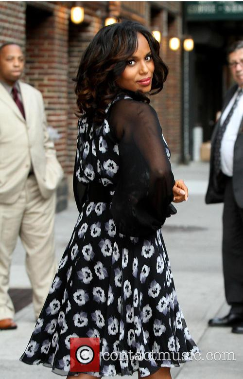 Kerry Washington, Late Show with David Letterman