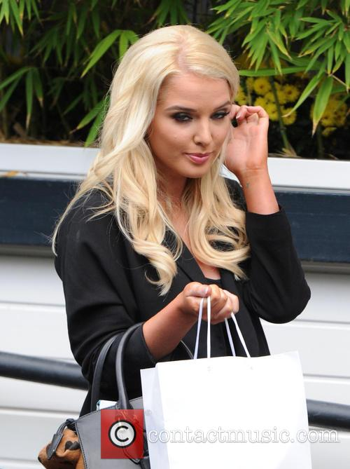 Helen Flanagan at the ITV studios