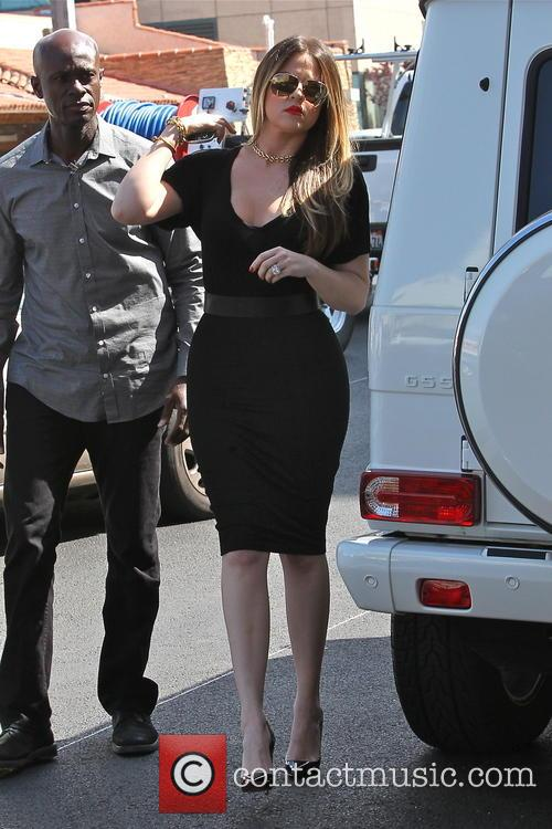 Khloe Kardashian Filming