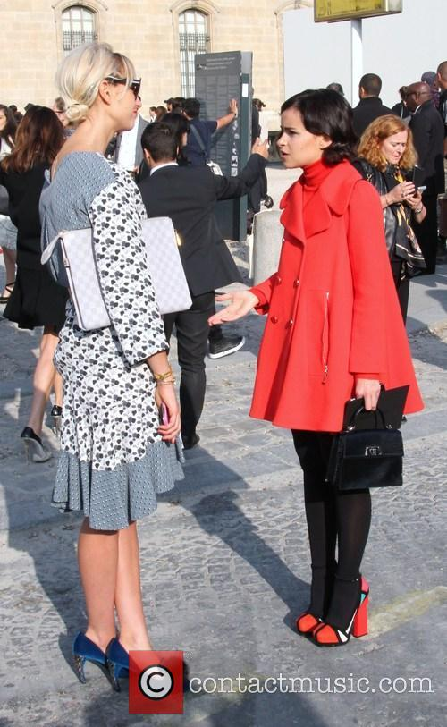 Louis Vuitton and Miroslava Duma 4