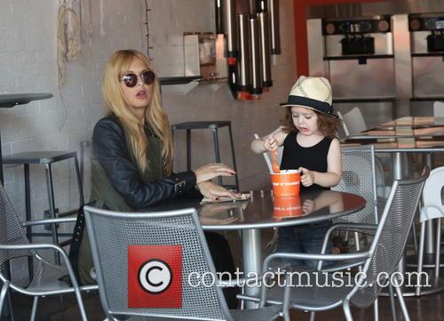 Rachel Zoe and Skyler 6