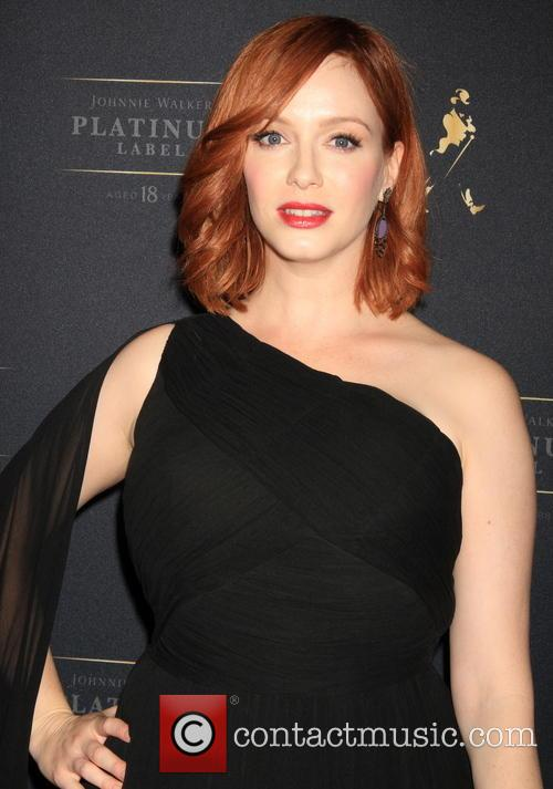 Christina Hendricks helps Johnny Walker launch it's new...