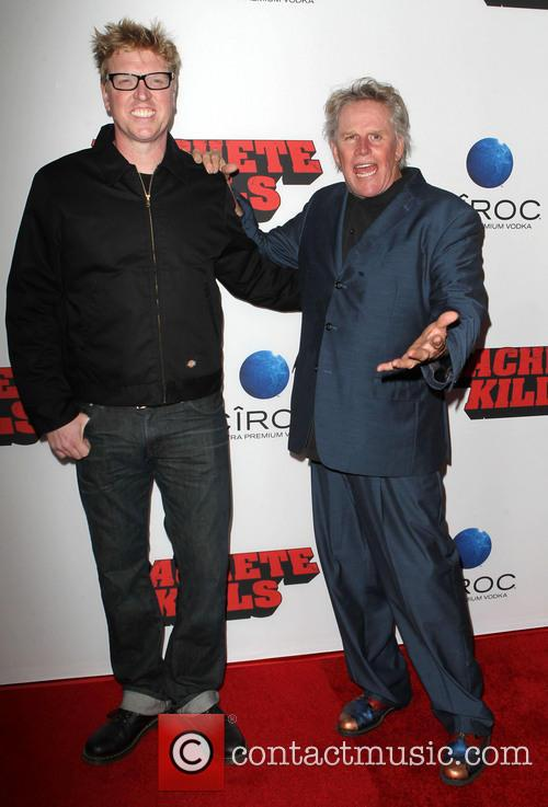 Jake Busey and Gary Busey 4