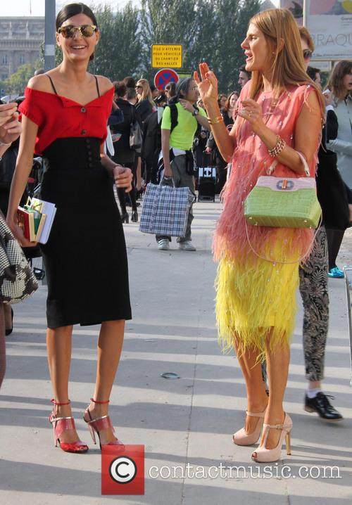 Louis Vuitton, Anna Dello Russo and Giovanna Battaglia 9