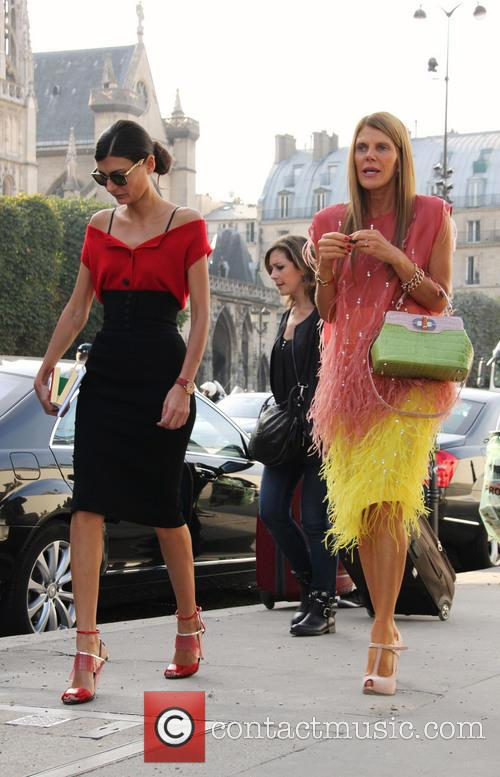Louis Vuitton, Anna Dello Russo and Giovanna Battaglia 10