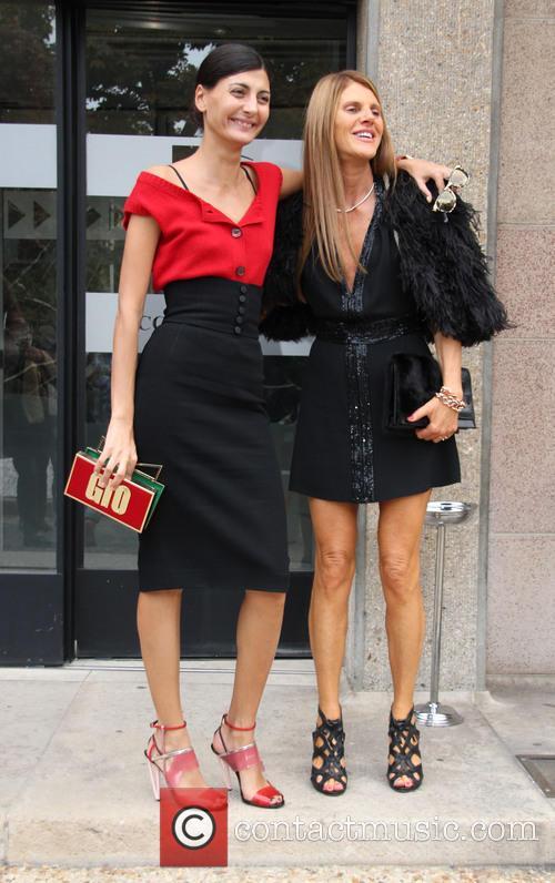 Anna Dello Russo and Giovanna Battaglia 3