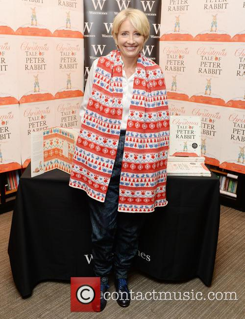 Emma Thompson's book signing