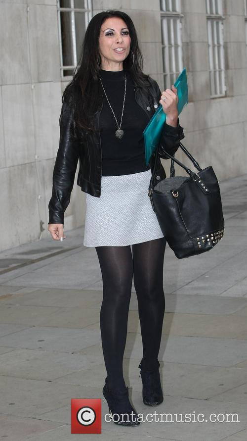 Francine Lewis outside BBC Radio One