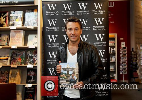 Gino D'Acampo at Liverpool Waterstones