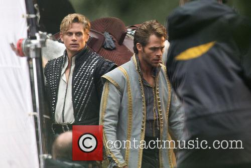 Chris Pine and Billy Magnussen 3