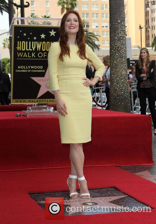 julianne moore julianne moore hollywood walk of 3890301