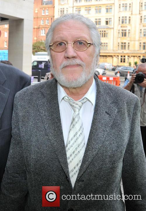 Dave Lee Travis arrives at Westminster Magistrates Court