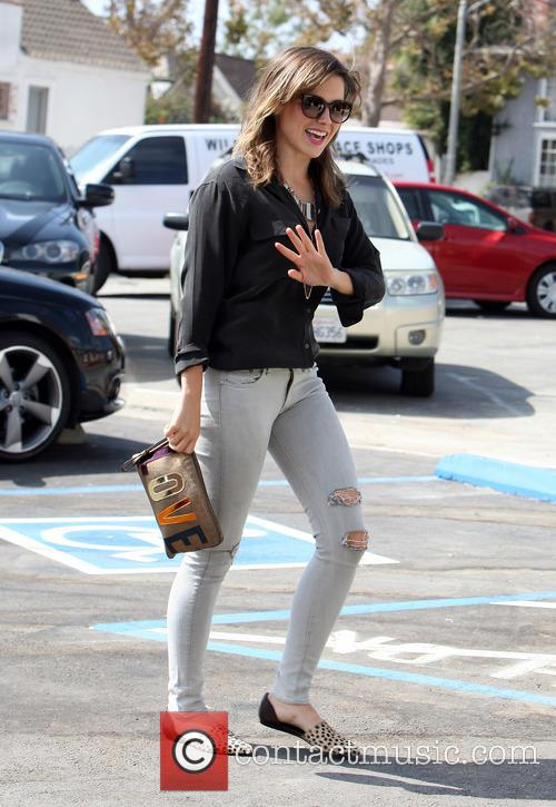 Sophia Bush Leaving Hair Salon