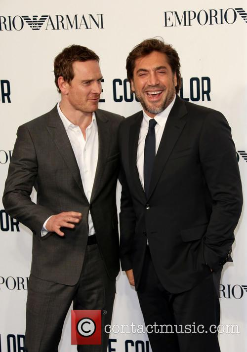 Michael Fassbender and Javier Bardem 1