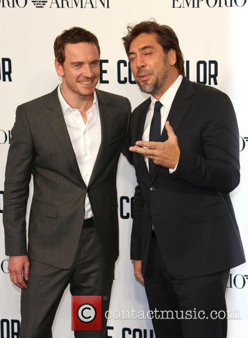 michael fassbender javier bardem the counselor special screening 3890418