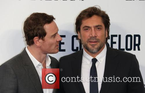 Michael Fassbender and Javier Bardem 6