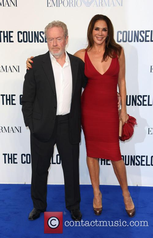 Ridley Scott and Giannina Facio 11