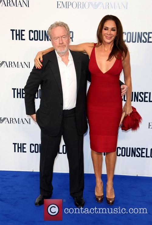Ridley Scott and Giannina Facio 2