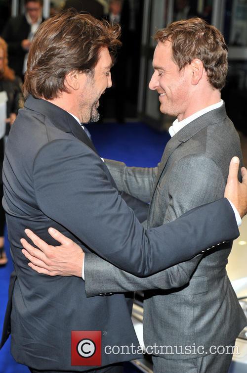 Javier Bardem and Michael Fassbender 1