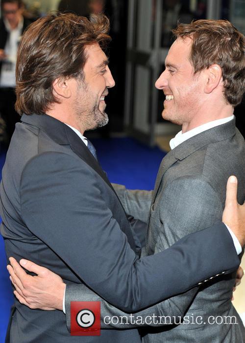 Javier Bardem and Michael Fassbender 2