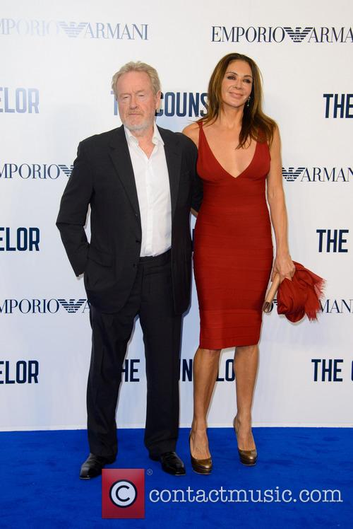 Ridley Scott and Giannina Facio 8