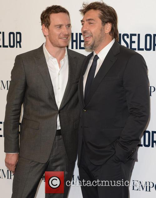 Javier Bardem and Michael Fassbender 2