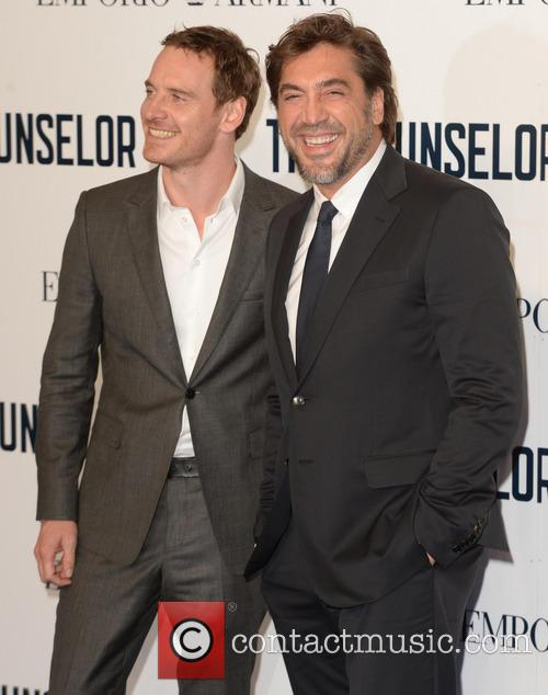 Javier Bardem and Michael Fassbender 5