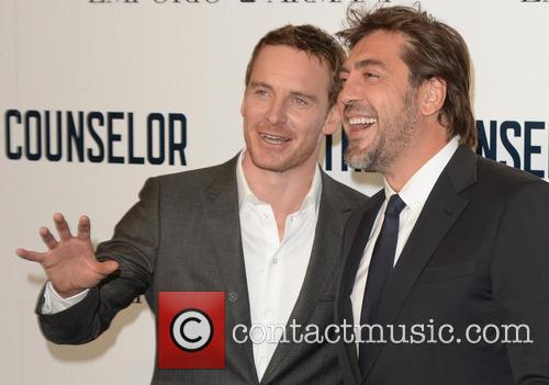 Javier Bardem and Michael Fassbender 9