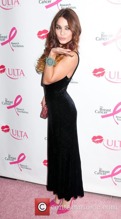 vanessa hudgens donate with a kiss event 3890664