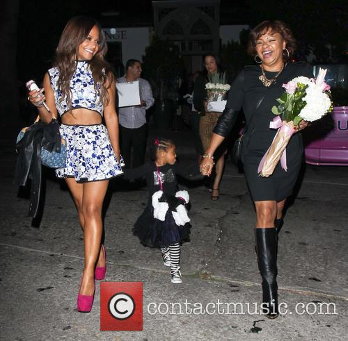 Christina Milian, Violet Madison Nash and Carmen Milian 9