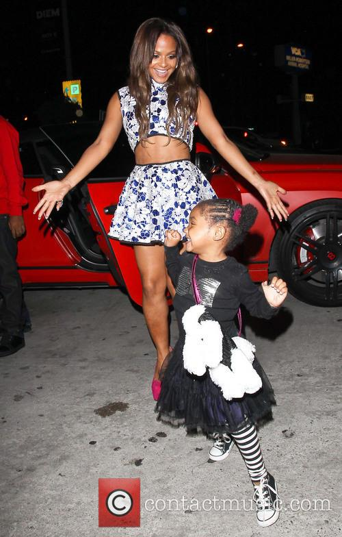 Christina Milian and Violet Madison Nash 11
