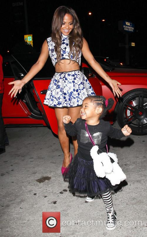 Christina Milian and Violet Madison Nash 6