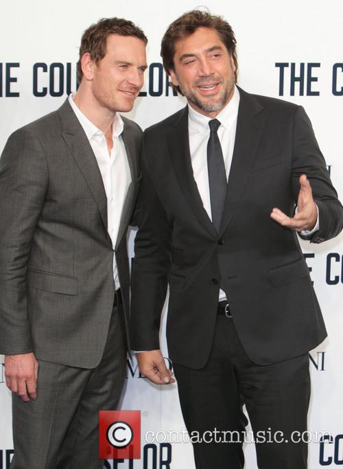 Michael Fassbender and Javier Bardem 4