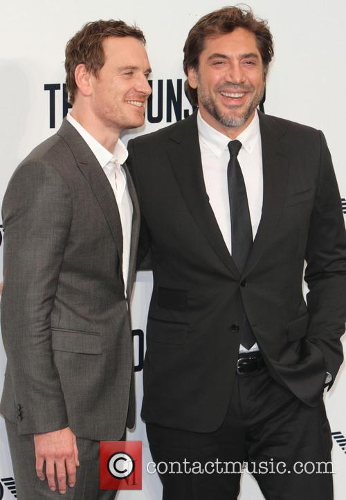 Michael Fassbender and Javier Bardem 6