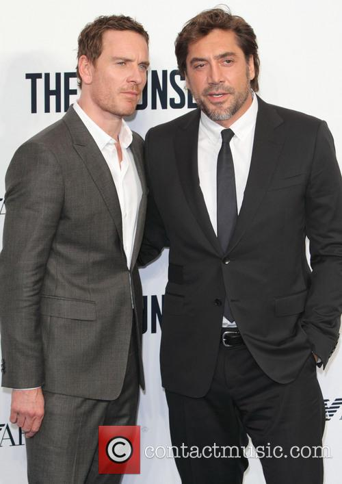 Michael Fassbender and Javier Bardem 8