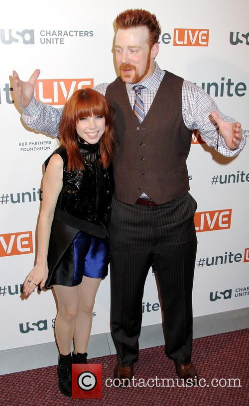 Carly Rae Jepsen and Sheamus 2