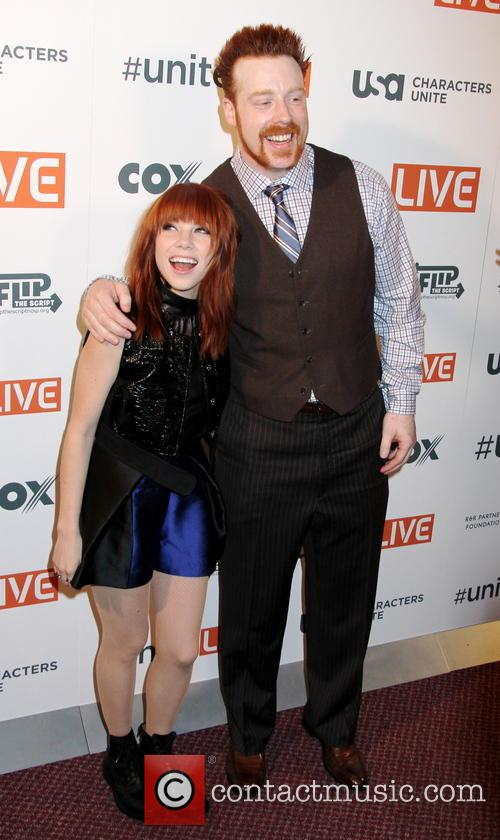 Carly Rae Jepsen and Sheamus 5