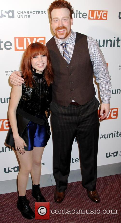 Carly Rae Jepsen and Sheamus 6