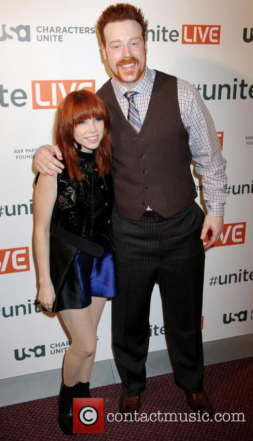 Carly Rae Jepsen and Sheamus 1