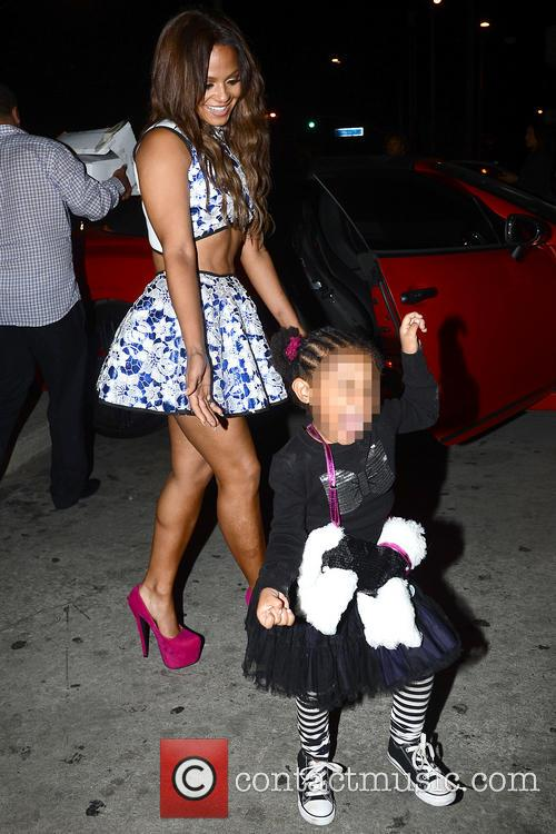 Christina Milian and Violet 11