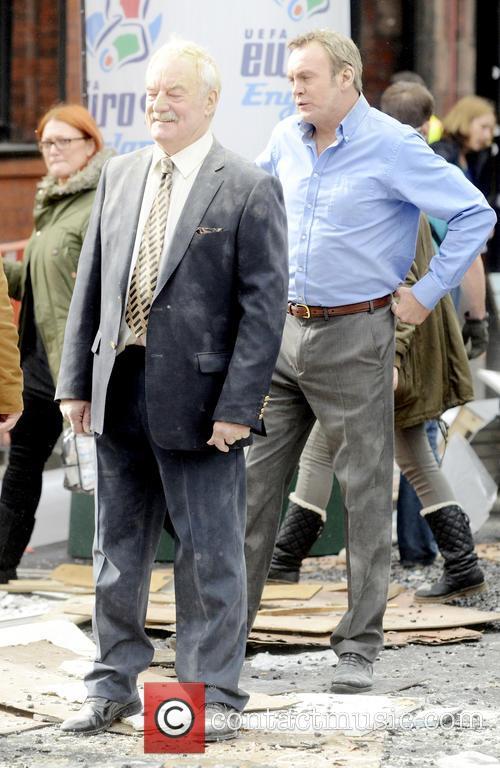 Philip Glenister and Bernard Hill