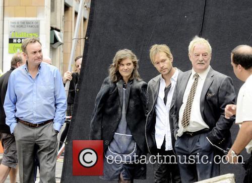 Philip Glenister, Liz White, Bernard Hill and Steven Mackintosh 5