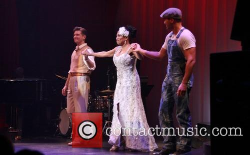 Opening Night of Lady Day-Curtain Call