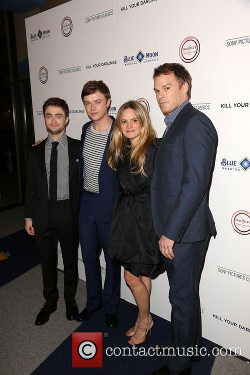 Daniel Radcliffe, Dane Dehaan, Jennifer Jason Leigh and Michael C. Hall 8
