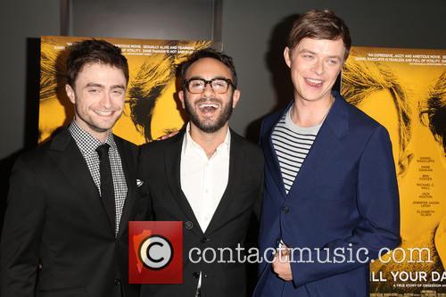 Daniel Radcliffe, John Krokidas and Dane Dehaan 5